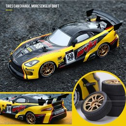 Drift Racing RC Car GTR model 4WD 2.4G Off Road Rockster Remote Control Vehicle Electronic Hobby Toys T200115 on Sale