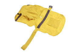 $enCountryForm.capitalKeyWord NZ - 10PCS Pet Rain Poncho Small Medium Large Dog Rain Jacket Fashion Pet Dog Raincoat PU Wholesales