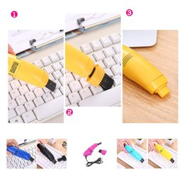 mini vacuum cleaner for pc NZ - Mini Keyboard Vacuum Cleaner USB Powered Mini Vacuum Cleaner Dust Collector Machine For Printer Computer Laptop PC Cleaning
