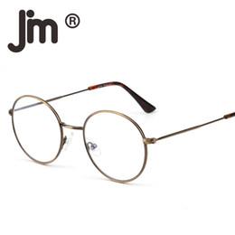 411e06b02294c Vintage Retro High Quality Round Wire Rim Glasses Circle Frame Clear Lens  Eyeglasses Optical Eyewear for Women Men