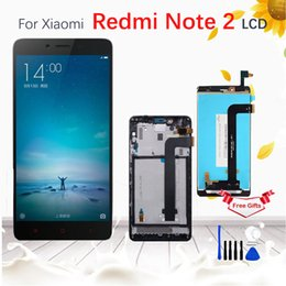 Hongmi redmi note online shopping - For Xiaomi Redmi Note LCD Display Screen Replacement For Hongmi Note Digitizer assembly Note2 With Frame