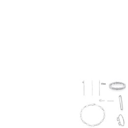 Pink heart stick online shopping - 2019 Sterling Silver Multi bear Straight Stick Fashion Pendant Ear Clip Bracelet Earmuffs Earrings Ring