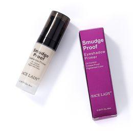$enCountryForm.capitalKeyWord UK - DHL Free Private Label 6ml Crease Smudge Proof Pigments Eyes Primer Base Concealer Oil-control Pores Cover Brand Liquid Eyeshadow Gel Makeup