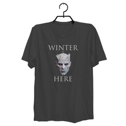 China The Night King- Men's NEW Game of Thrones - Season 7 T-Shirt Free Shipping Funny free shipping Unisex Casual Tshirt top cheap game thrones season suppliers