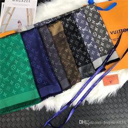 High Quality Classic Plaid Design Cashmere Scarf Fashion Autumn And Winter Silk Scarves Men Shawl 180*70CM Ladies Scarf Warm Cashmere Women