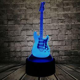 $enCountryForm.capitalKeyWord Australia - Music Cool Guitar Bass 3D LED LAMP NIGHT LIGHT for Musicians Home Table Decoration Birthday Christmas Present Gift