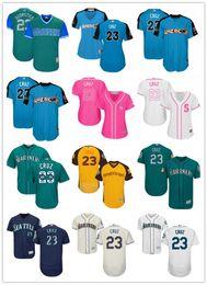 ac60a684dd 2018 can custom Denver Broncos Jerseys  23 Nelson Cruz Jeserseys YOUTH   Men s Baseball Jersey Majestic Stitched Professional sportswear