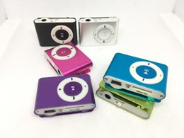 Mp3 without screen online shopping - The Best Selling Classic MP3 Music Players Mini Clip MP3 Player without Screen Sport Style Music Players DHL Free