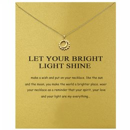 Titanium Moon Pendant Australia - Sun glow night glow moon creative Europe and the United States foreign trade AliExpress WISH gold alloy clavicle short simple necklace