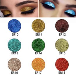 $enCountryForm.capitalKeyWord Australia - Quality Stock 18 Colors Glitter Sexy Shadows Beauty Eyes Makeup Diamond Rainbow Shinning Glitter Eyeshadows Powder Make Up Palette Free Ship