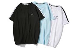 $enCountryForm.capitalKeyWord Australia - Playboy T-shirt new word standard wave jewelry tie stitching luxury SS brand jersey shirt fashion clothing hot sale