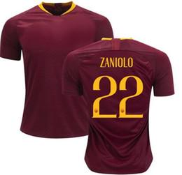 30f9cc1faea Soccer Jersey Customize UK - Customized 18-19 22 Zaniolo Thai Quality  Soccer Jersey Shirts