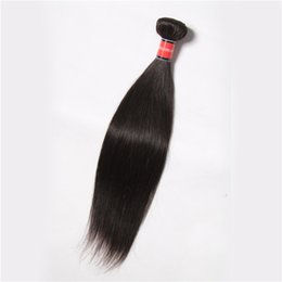 $enCountryForm.capitalKeyWord UK - 2017 New Arrival Cheap Brazilian Human Weave Virgin Hair Straight 1 Bundlet Unprocessed Virgin Hair Free Shipping Peruvian hair
