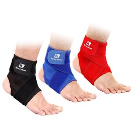 StrapS nurSeS online shopping - Outdoor Pressurizable Bandage Ankle Support Protector Foot Guard Warm Brace Nursing Anti Sprain Straps for Sport Basketball