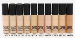 Discount different types makeup - New Makeup Pro Longwear Concealer Cache-Cernes Face Skin Camouflage Concealer Long-Lasting Natural Concealer 9ML Have 10