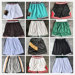 blue yellow basketball shorts Australia - Top Quality ! Team Basketball Shorts Men Shorts basket Sport Shorts College Pants White Blue Red Purple Yellow Black
