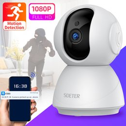 Discount baby alarm monitors SDETER 1080P Wireless CCTV Security Camera WiFi Camera IP Surveillance Night Vision Baby Monitor Motion Alarm Cloud P2P