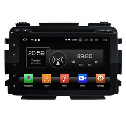 Car v gps online shopping - Octa Core quot Android Car DVD Player for Honda Vezel HRV HR V Radio GPS G WIFI Bluetooth USB Mirror link GB RAM GB ROM