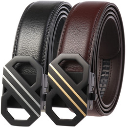 $enCountryForm.capitalKeyWord NZ - 2019 Men Designer Belts High Quality Male Casual Genuine Leather Strap Automatic Buckle Cowhide Waistband for Jeans Men Business Belts