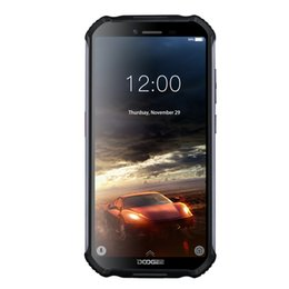 Wholesale New DOOGEE S40 lite Rugged Android 9.0 Mobile Phone 5.5 inch Display 4650mAh MT6580 Quad Core 2GB RAM 16GB ROM 8.0MP IP68 IP69K
