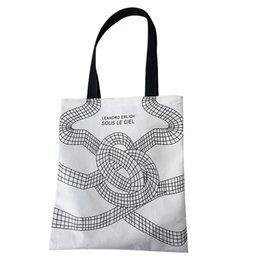 $enCountryForm.capitalKeyWord Australia - Xiniu Fashion Women Canvas Printing Art Reusable Shoulder Bags Handle Shopping Bags For Women Bolsa de ombro das mulheres#30