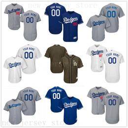 4146eb21887 Maillots de baseball féminin en Ligne-2019 CUSTOM Ls As Dodgers Hommes  Femmes Jeunesse Personnalisé
