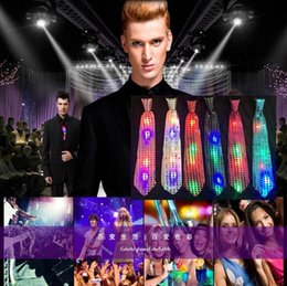 Toy Bows Australia - Party Toys Gifts Props Glowing led sequins Flash bow tie Bow tie clips Stage performance bar Nightclub Party event supplies