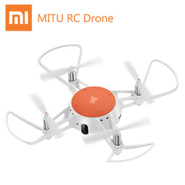 Fighting Australia - Original Xiaomi Mitu Drone Remote Control Mini Smart Aircraft Drone Infrared Fight Accurate Hovering 360D Rolling 720P HD Camera