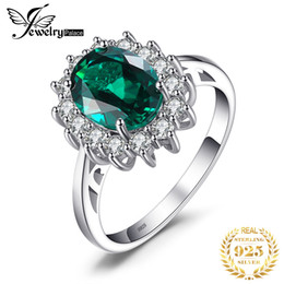 $enCountryForm.capitalKeyWord Australia - Jewelrypalace Princess Diana William Kate Middleton's 2.5ct Created Emerald Ring Solid 925 Sterling Silver Ring For Women Gift MX190726