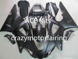 R1 Fairing Matte Black Australia - 3Gifts New Hot sales bike Fairings Kits For YAMAHA YZF-R1 1998 1999 r1 98 99 YZF1000 matte Black FI24