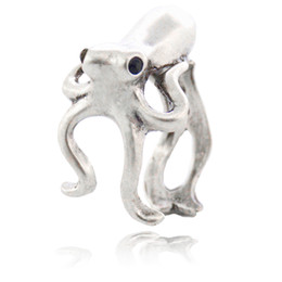 $enCountryForm.capitalKeyWord UK - Boho Chic Octopus & Sea Animal Couple Ring For Women Anel sleeve-fish Metal Wrap Ring Men Jewelry Best Gifts For Girls