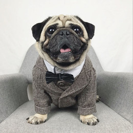 $enCountryForm.capitalKeyWord Australia - Formal Dog Clothes Wedding Pet Dog Suit Pets Dogs Clothing For Dogs Pets Supplies Xs-xxl Pet Apparel Puppy Outfit Pug Bulldog