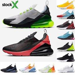venda por atacado 2020 Novas Almofada 270 sapatilhas desportivas dos homens do desenhista Running Shoes CNY do arco-íris do salto instrutor Road Star BHM Ferro Mulheres 27C Sneakers Tamanho 36-45