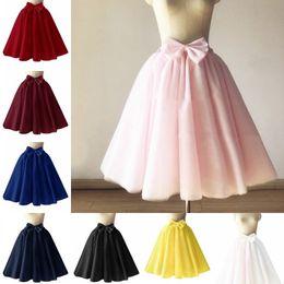 $enCountryForm.capitalKeyWord Australia - Hot sale Short Tulle Petticoat Crinoline Vintage Wedding Bridal Petticoat for Wedding Dresses Underskirt Rockabilly Tutu CPA1092