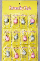 $enCountryForm.capitalKeyWord Australia - 3D totoro keychain cute key ring for women PVC anime key chain key holder creative portachiavi chaveiro llaveros bag charm
