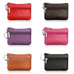 $enCountryForm.capitalKeyWord Australia - Women Men Faux Leather Coin Card Purse Wallet Clutch Zip Small Change Soft Bag