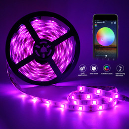 Phone waterProofing online shopping - Led Light Strip WiFi Wireless Smart Phone Controlled Waterproof Strip Light LED Lights Working with Android and iOS System