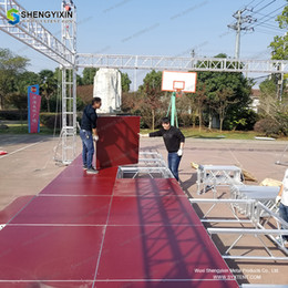 $enCountryForm.capitalKeyWord NZ - American Style Large Outdoor Concert Modular portable intelligent smart riser stage with dress for wedding event