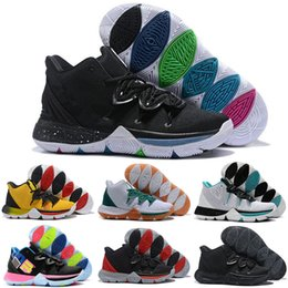 $enCountryForm.capitalKeyWord Australia - 2019 New Kyrie 5 Men Kids Basketball Shoes for Cheap Sale Irving 5s CNY Multi-Color Black White University Red Bruce Lee Sneakers