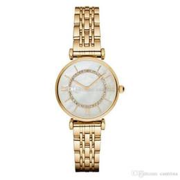 Wholesale Drop shipping women watch AR1907 AR1908 AR1909 AR1925 AR1926 Top quality quartz watches stainless steel Diamond watch fashion Wristwatches