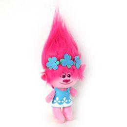 "new troll dolls 2019 - Movies Cartoon Plush Poppy Branch Trolls Stuffed Toy Doll 14"" 36 cm For Baby Best Gifts"