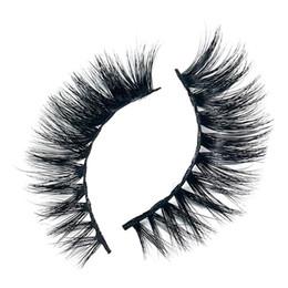 9f2b82d5df1 kanbuder False Eyelashes 1 Pair 3D Natural Thick False lashes Fashion Fake  Eyelashes dropship Nov5
