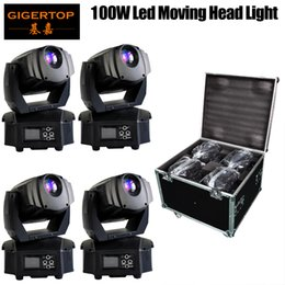 $enCountryForm.capitalKeyWord Australia - High Quality LED Mini 100W Spot Light Colorful Moving Heads stage light DMX stage light DJ Nightclub Party Concert 4in1 Road Case Packing