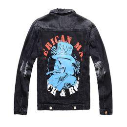 $enCountryForm.capitalKeyWord Australia - Famous Brand Mens Designer Jacket Mens Fashion Badge patch Biker Jacket Casual Mens High Quality Coat Black Size M-3XL