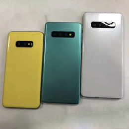 fake samsung phone UK - Fake Dummy Mould for Samsung S10 S10 plus S10 lite Dummy Mobile phone Mold Only for Display Non-Working Dummy model