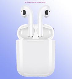 IFANS Mini i9s Gemelos Auriculares Mini Auriculares inalámbricos Bluetooth i7s TWS Air Auriculares Pods Auriculares estéreo para iPhone Android PC