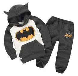 $enCountryForm.capitalKeyWord Australia - Batman Winter 2019 Baby Girl Clothes Cartoon Infant Warm Coat+Pants Cotton Two-Piece Kids Hoodies Outfit Suit Baby Boy Clothing