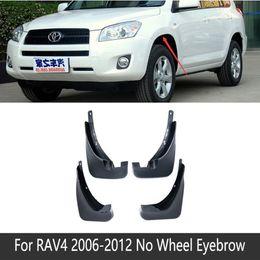 $enCountryForm.capitalKeyWord Australia - NO wheel eyebrow 2006 2007 2009 2010 2012 car Mud Flaps Splash Guards cover fender mudguard for Toyota RAV4 XA30 Mudguards accessories