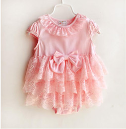 $enCountryForm.capitalKeyWord Canada - Ins baby cute style for size 3, 6 9 month 3 color letter rompers 0~10M size white and pink lace romper and dress