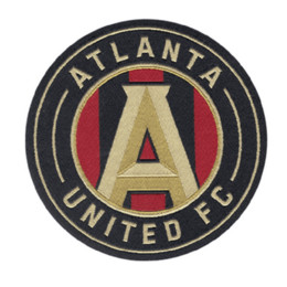 Patches Badges Australia - ATLANTA UNITED FC Letter patch On Patches Clothes Appliques Sew On Motif Badge DIY Clothing Bag
